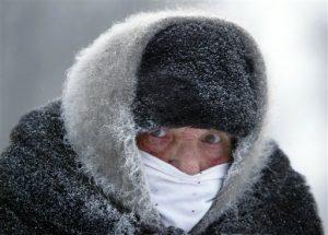 il fait froid en russie